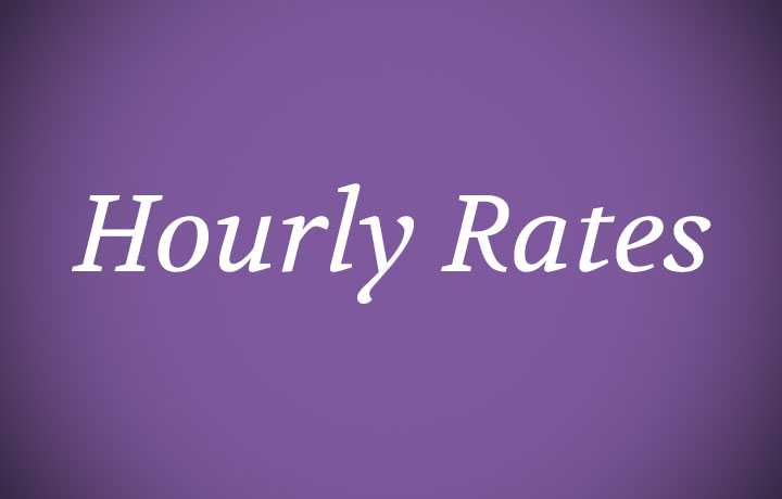 Custom Hourly Rates